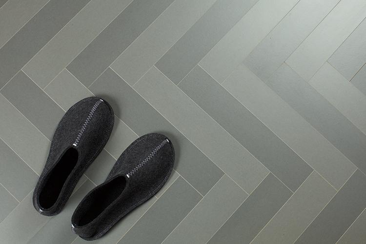 Stilsäkert golv i ny tappning