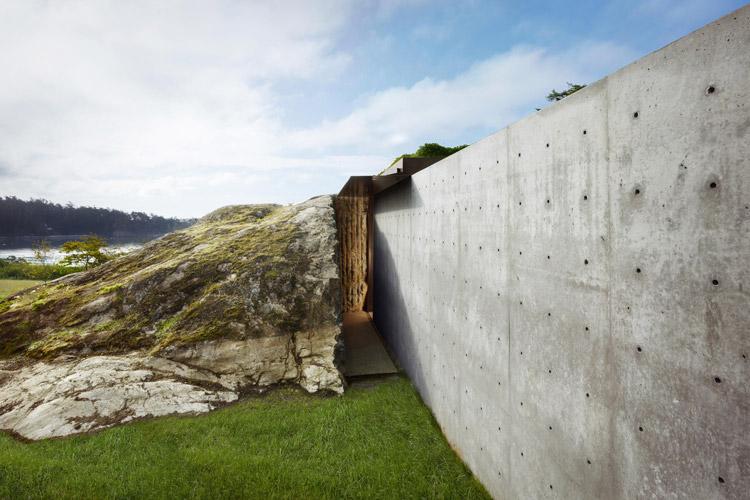 Arkitektur förenad med naturen
