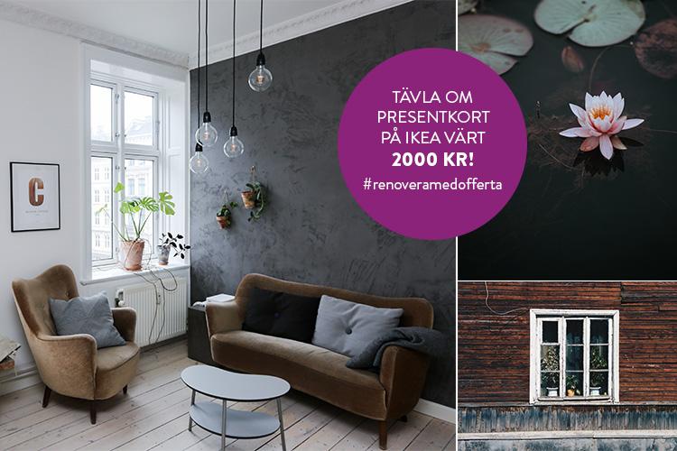 Instagramma ditt Offertaprojekt och tävla om 2000 kr på IKEA!