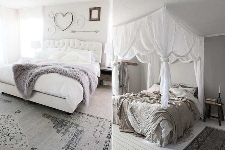 Romantiska sovrum att förälska sig i