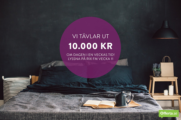 Vinn 10 000 kr att renovera för - varje dag!